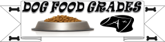 dog food grades tab