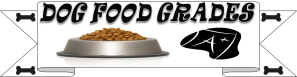 dog food grades tab