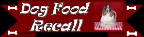 Dog Food recall Tab
